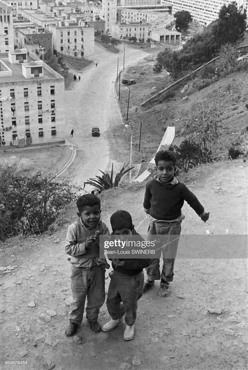 Дети на улице г Алжир 1960 Ж Л свинер.jpg