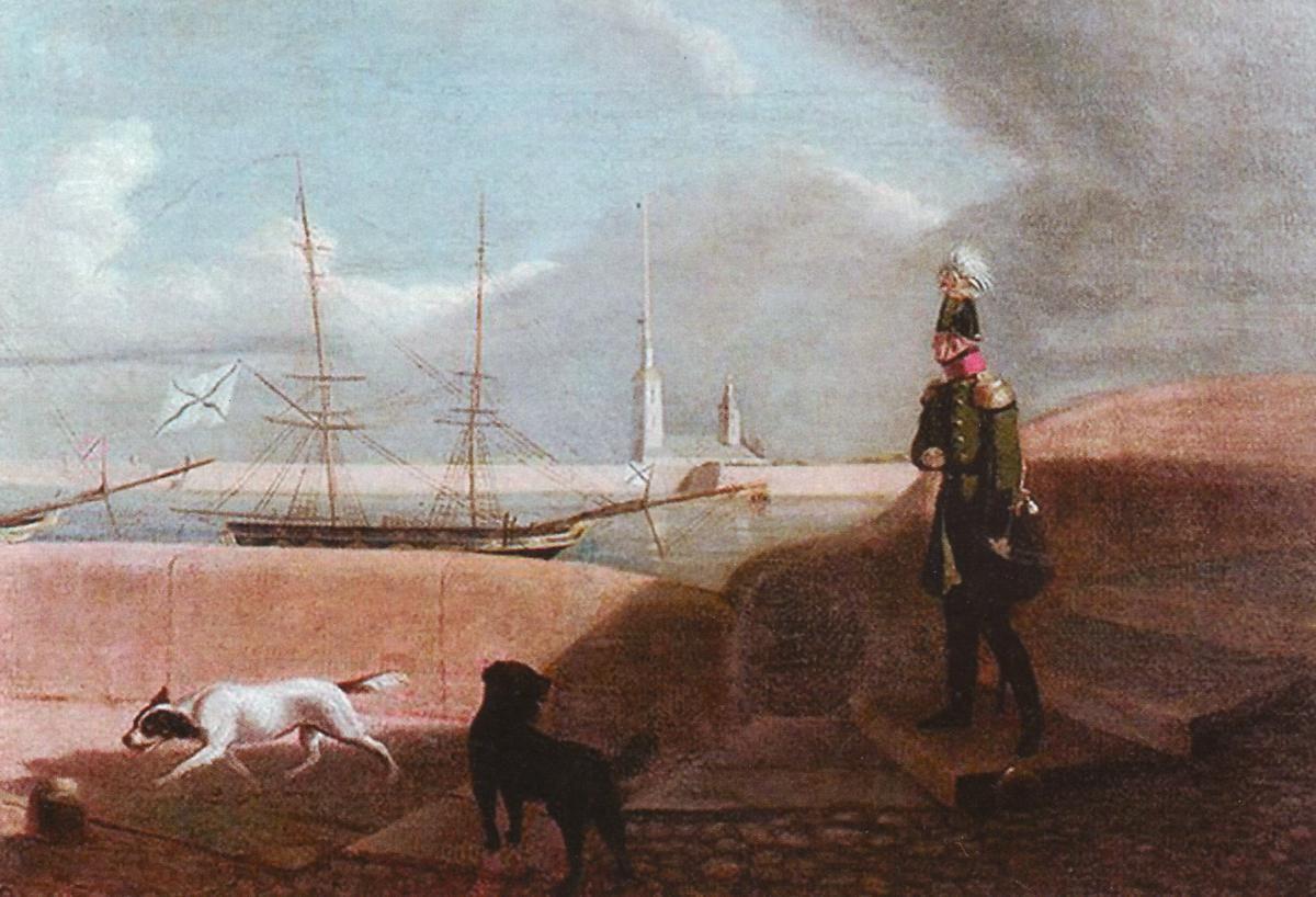 09 Alexandre 1823 Чернецов Ал 1 на набережной Невы.jpg