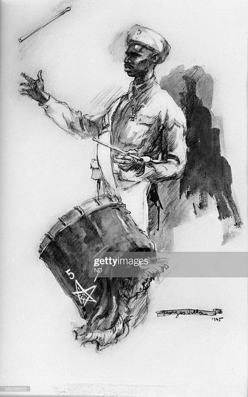 марокканец из фр армии 1945 Жорж Вилла.jpg