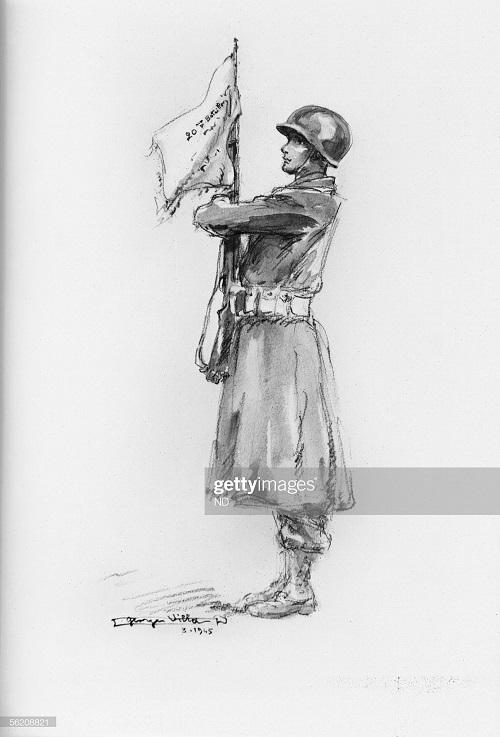 солдат 1 фр армии 1945 Жорж Вилла.jpg