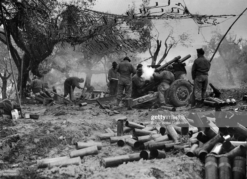 1 Армия в Вогезах в декабре 1944.