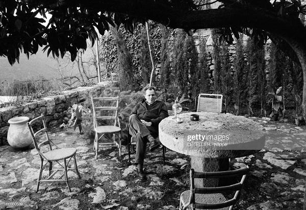 На террасе 1962 теллье.jpg