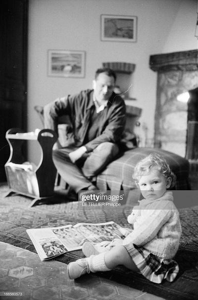 с дочерью 1962 Теллье.jpg