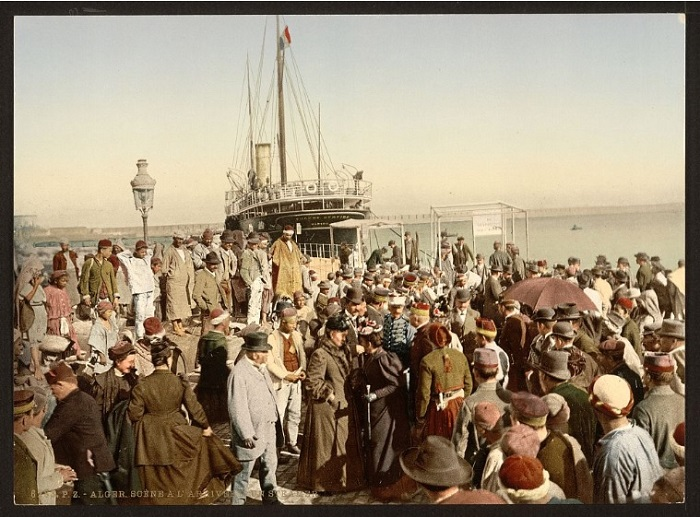 Алжир высадка с корабля 1.jpg
