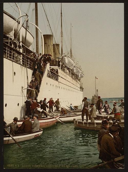 Алжир высадка с корабля2.jpg