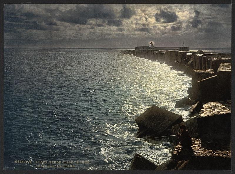 Алжир порт ночью2.jpg