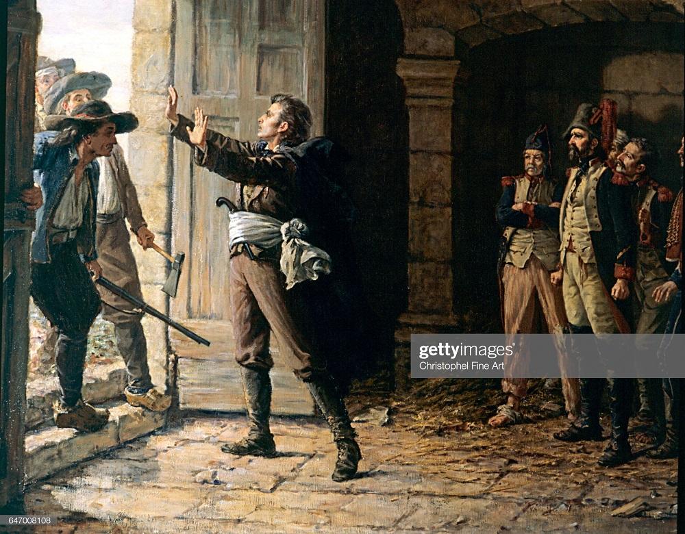 Морис Жиго д Эльбе защ пленых синих в Шемилле  апр1793 Неизв Шоле 2.jpg