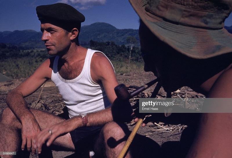 Легионеры в Индокитае 1956 Эрнст Хаас 2.jpg
