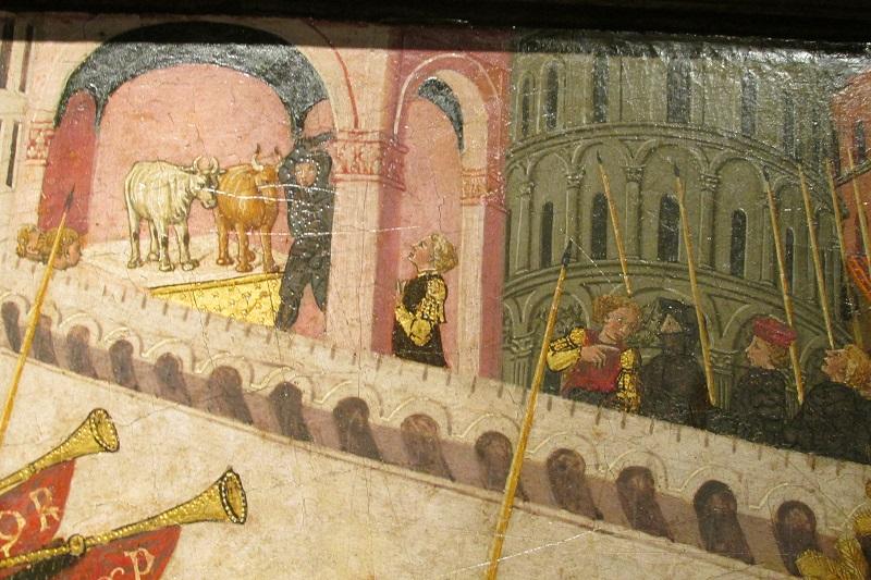 Триумф Ал Мак ок 1450 Ло Скеджа сундук живртные.jpg
