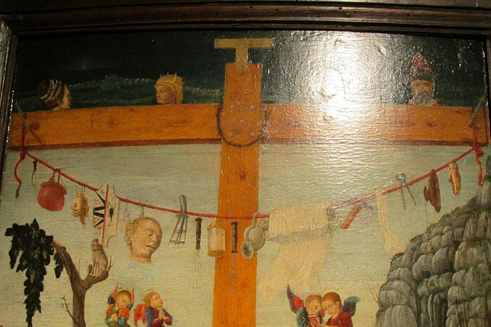 Христос с орудиями страстей ок 1460 Франческо Бенальо ст расти.jpg