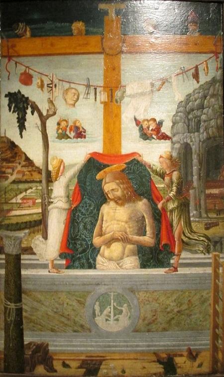 Христос с орудиями страстей ок 1460 Франческо Бенальо.jpg