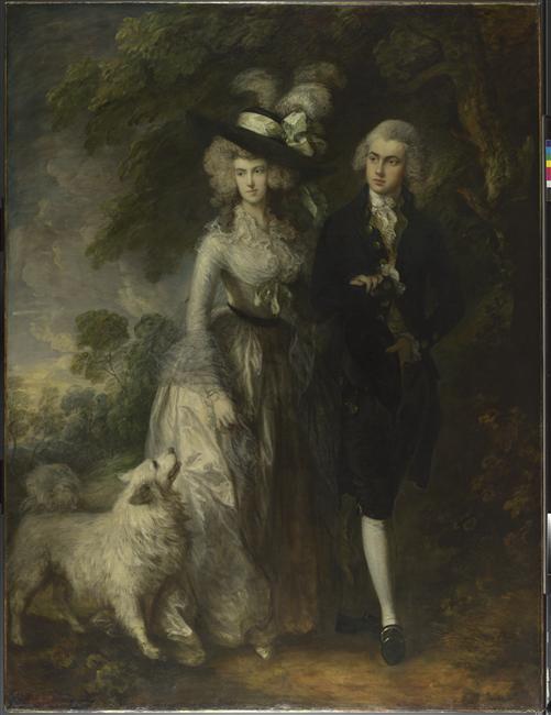 Вильям Холлетт и его жена Элизабет 1785 Гейнсборо Нац гал.jpg