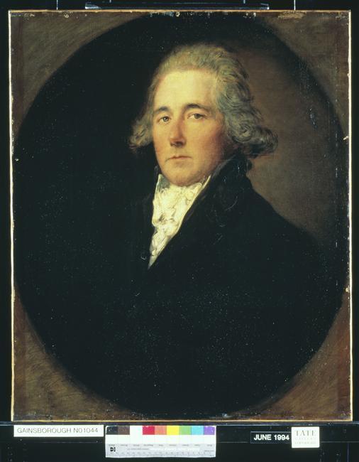 Преп сэр Генри Бэйт-Дадли ок 1780 Гейнсборо тэйт кол.jpg