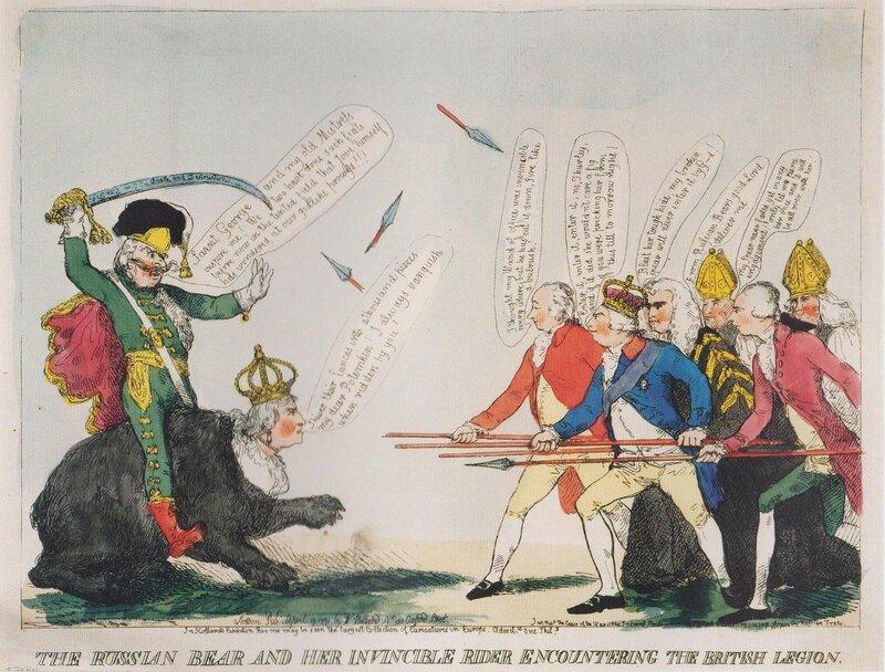 Рус мед и ее непоб наездник в бою с Брит лег 1791.jpg