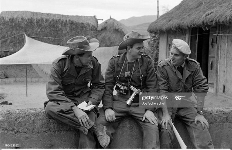 Солдаты и пост 1954 Джозеф Шершель 16.jpg
