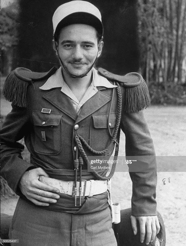 Легионер-немец март 1950 Карл Майданс.jpg