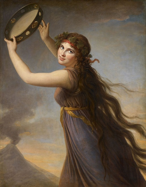 Гамильтон Эмма в роли Вакханки 1790-1791 Виже Лебрен.jpg