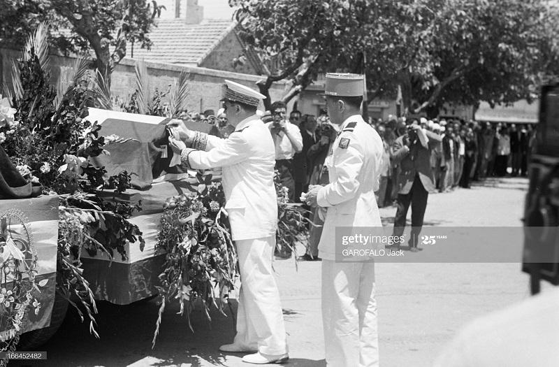 Тебесса похороны Дюпюи 24 мая 1955 Джек Гарофало.jpg