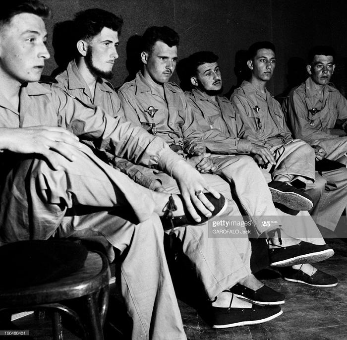 Сбежавшие пленники из джебель шерар где были 4 мес 4 авг 1955 Дж Гарофало2.jpg
