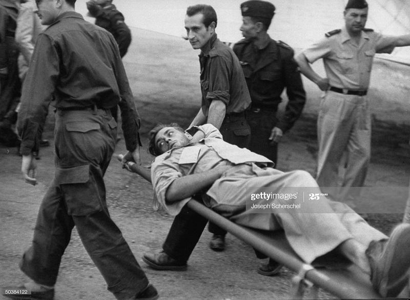Возвращение раненых из Индокитая апр 1954 Джозеф Шершель.jpg