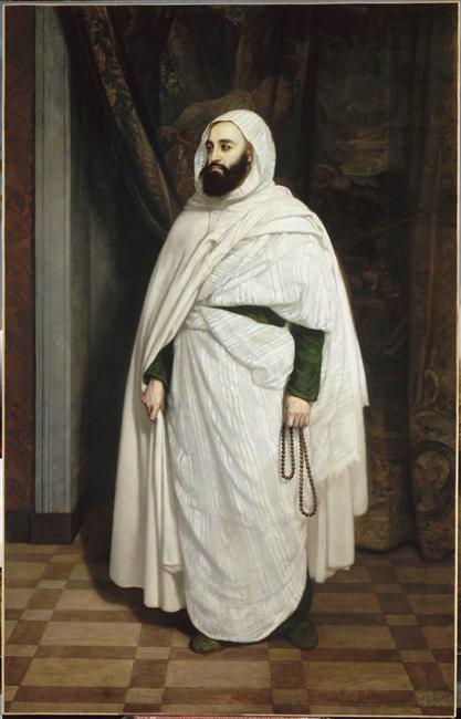 Абдель кадер  1853 Анж Тиссье Версаль.jpg