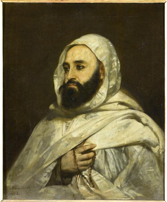 Абдель кадер 1852 Анж Тиссье Версаль.jpg