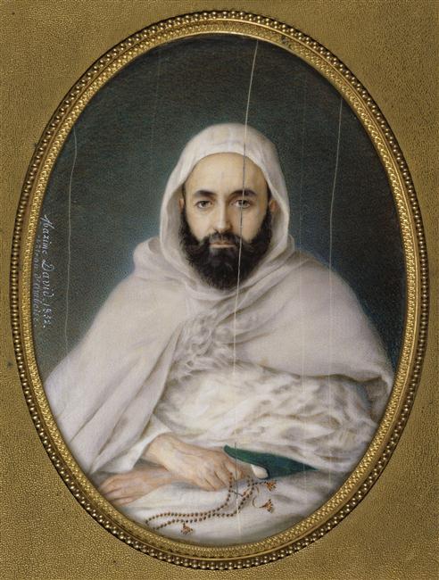 Абдель кадер 1852 Максим давид Версаль.jpg