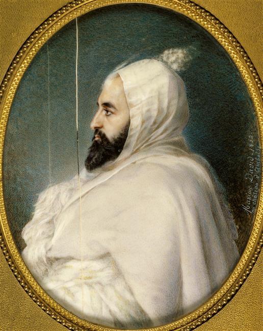 Абдель кадер 1852 Максим давид Версаль2.jpg