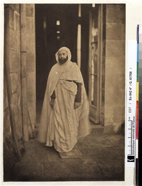 Абделькадер в Амбуазе 1852 Гюстав ле Грэ Нац библ.jpg