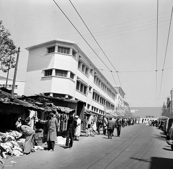 Алжир город в касбе операция по контролю 17 мая 1956 Ф паж 2.jpg