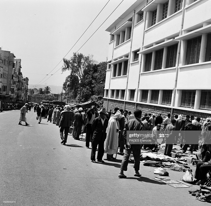 Алжир город в касбе операция по контролю 17 мая 1956 Ф паж.jpg