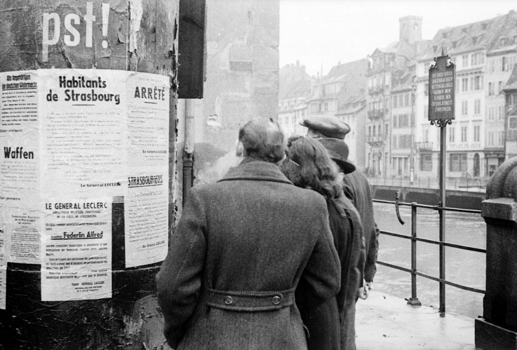 Прокламация леклерка к жит о погибш сдерж клятву Куфра Страсбурга нояб 1944  Белен Ленна.jpg