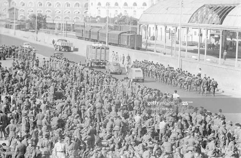 В Тлемсене прибытие на кор Город Оран в г Алжир 14 июня 1956 Ф Паж2.jpg
