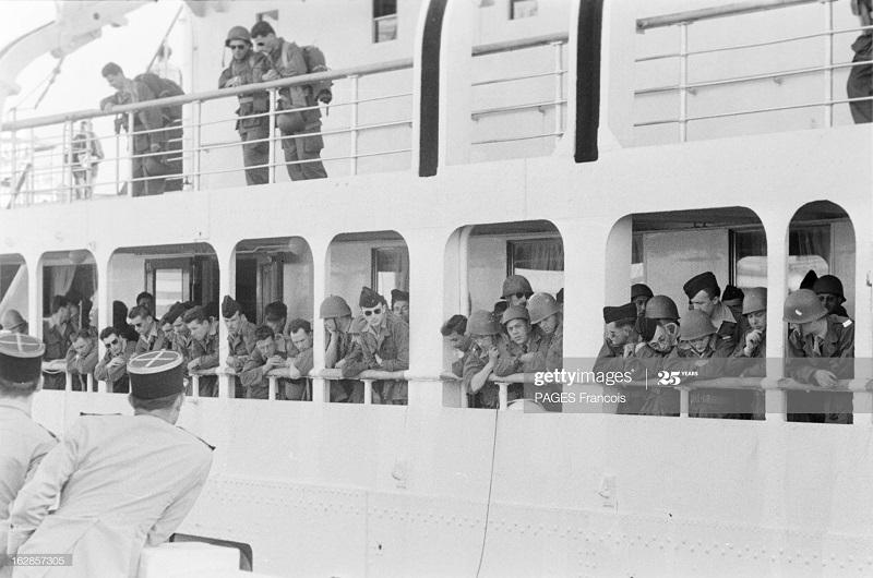 В Тлемсене прибытие на кор Город Оран в г Алжир 14 июня 1956 Ф Паж4.jpg
