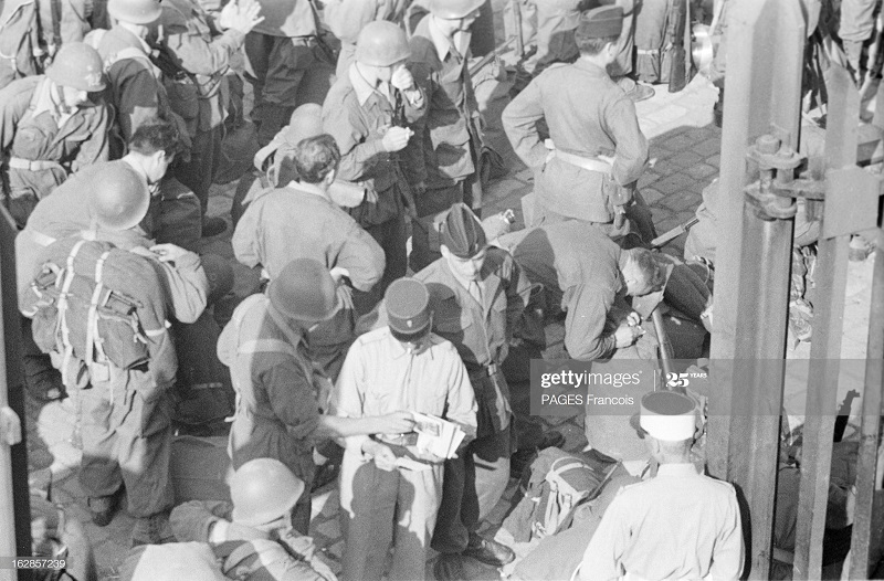 В Тлемсене прибытие на кор Город Оран в г Алжир 14 июня 1956 Ф Паж7.jpg