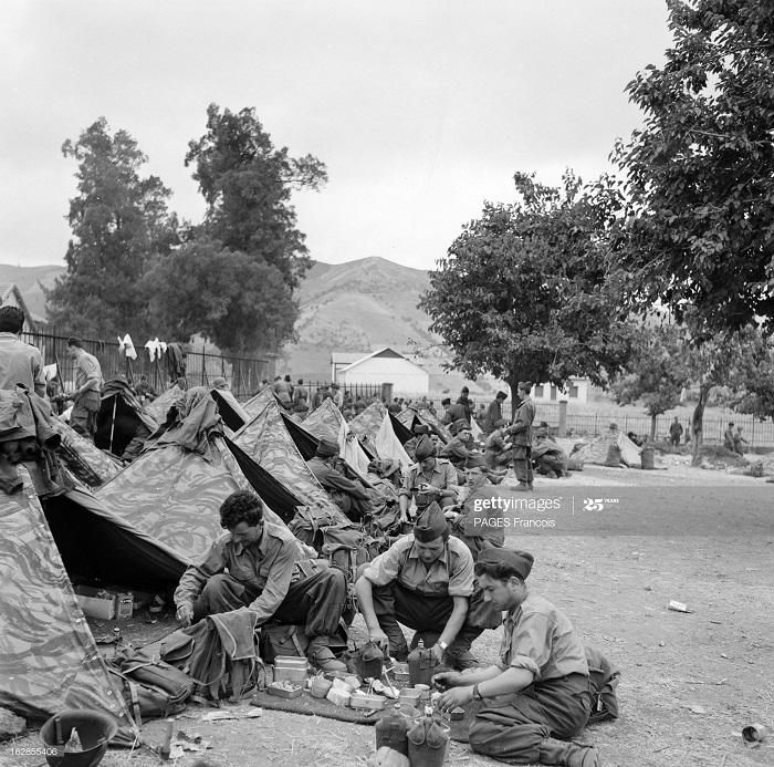 В Тлемсене резервисты 14 июня 1956 Ф Паж 7.jpg