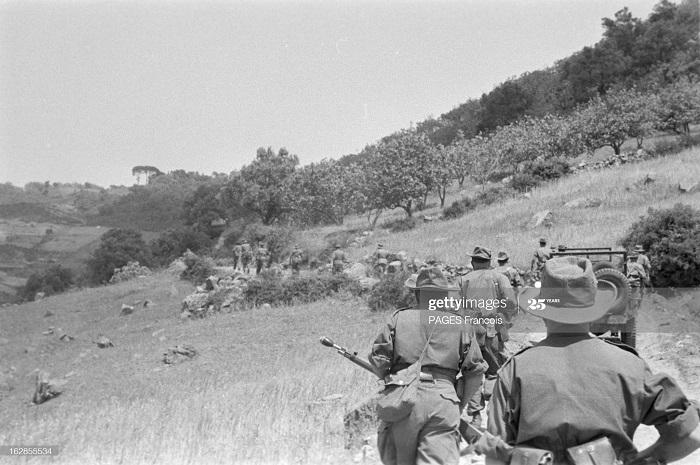 В Тлемсене Алжир Город Резервисты приб на кор Город оран 14 июня 1956 Ф паж9.jpg