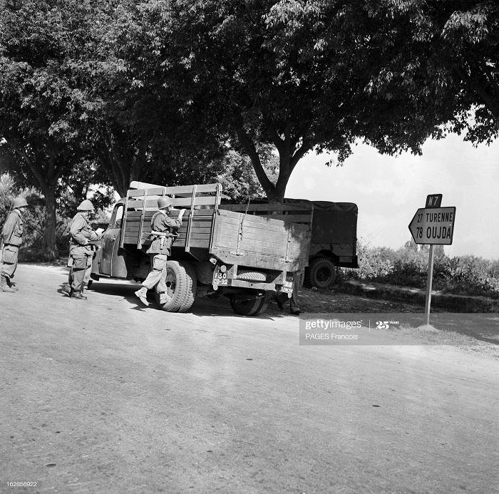 В Тлемсене проверка 23 мая 1956 Ф паж5.jpg