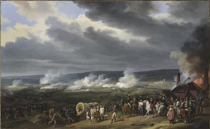 Битва при Жемаппе 1792 Орас Верне нац гал в Лондоне.jpg