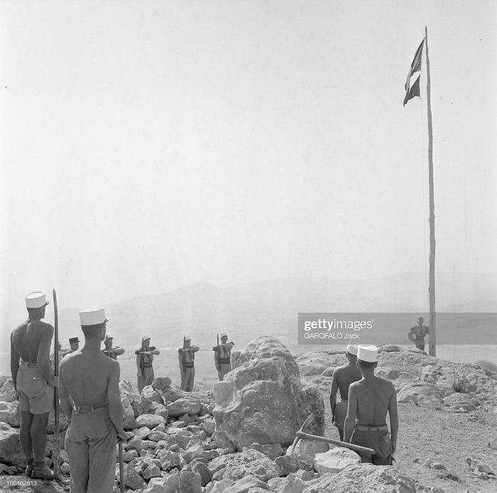 Легионеры в Оресе 9 июля 1955 Джек Гарафало.jpg