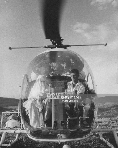 мусульманка в вертолете сент 1957 г сохурек.jpg