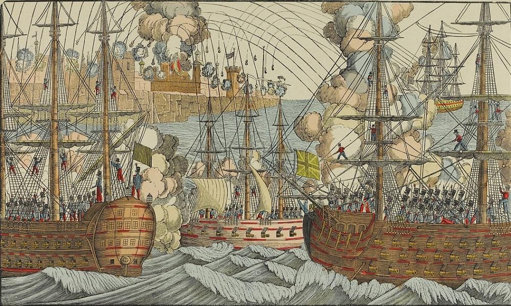 Бомб и взятие г Алжир в 1830.jpg