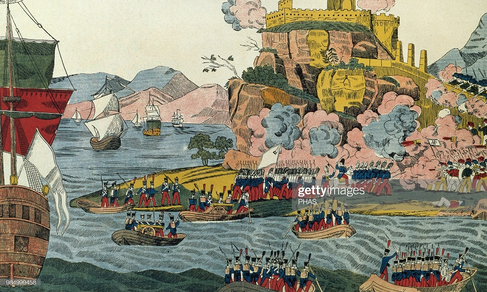 Взятие г Алжир в 1830 Дюбур 1830-е.jpg