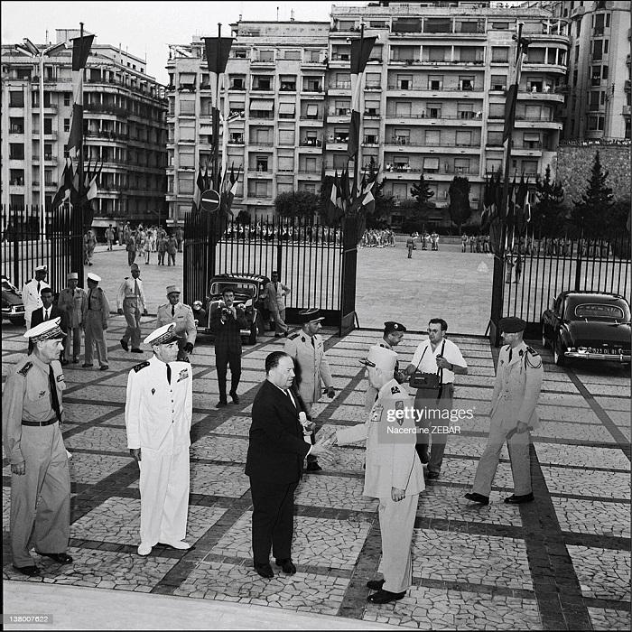 гг Лакост и ген Салан июнь 1957 Н зебар.jpg
