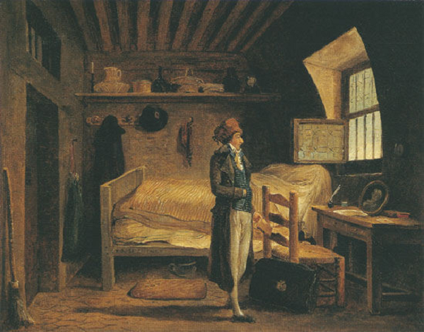 поэт жан антуан руше ожид перевоза из тюрьмы сент елажи в сен лазар за неск дней до казни Р юбер.png