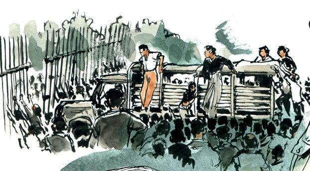 восставшие 13 мая 1958 Титван.jpg