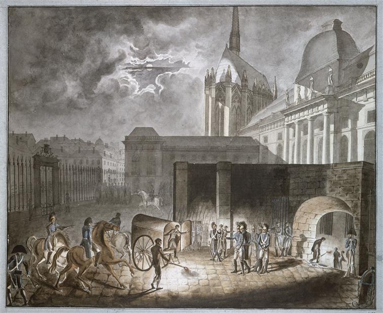 Доставка заключенных в конс 26 марта 1804 1804 А де полиньяк.jpg