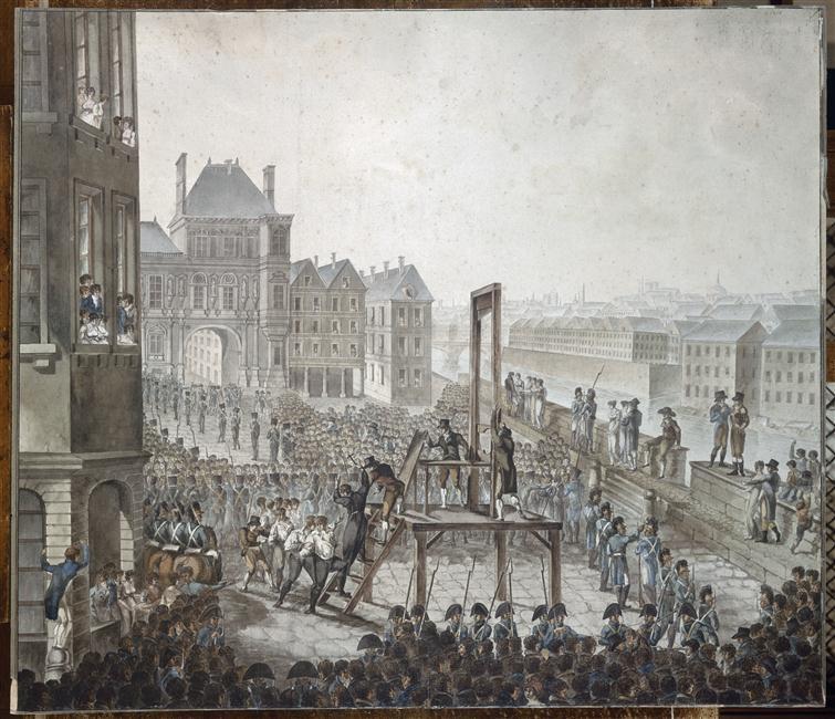 Казнь кадудаля и его стор на Гревск пл 25 июня 1804 1804 а де полиньяк карнавале.jpg