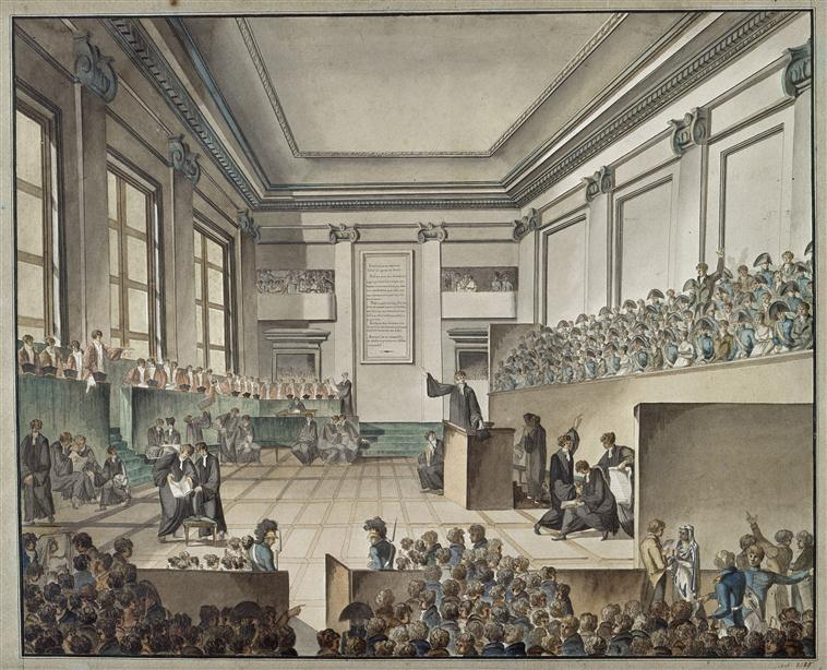 Эпизод професса Моро Пишегрю кадудаля А де полиньяка 1804 а де полиньяк.jpg