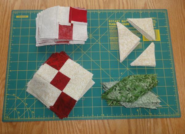 Holly leaf block units